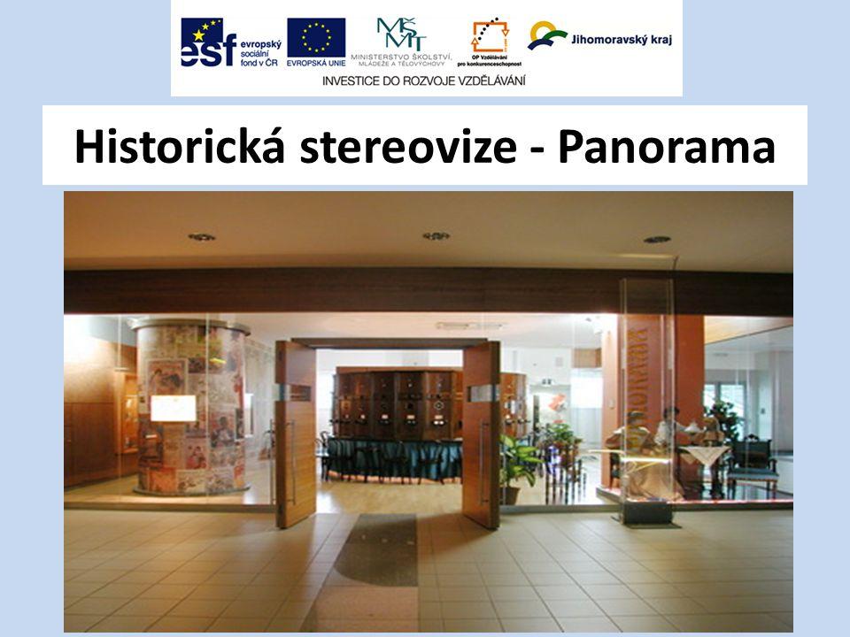 Historická stereovize - Panorama