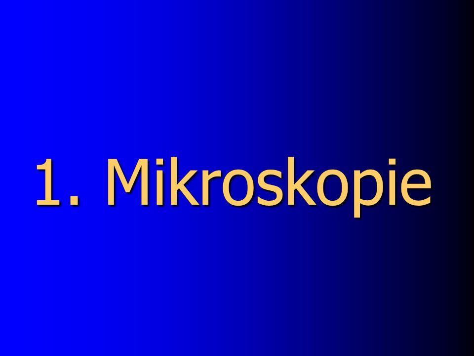 1. Mikroskopie