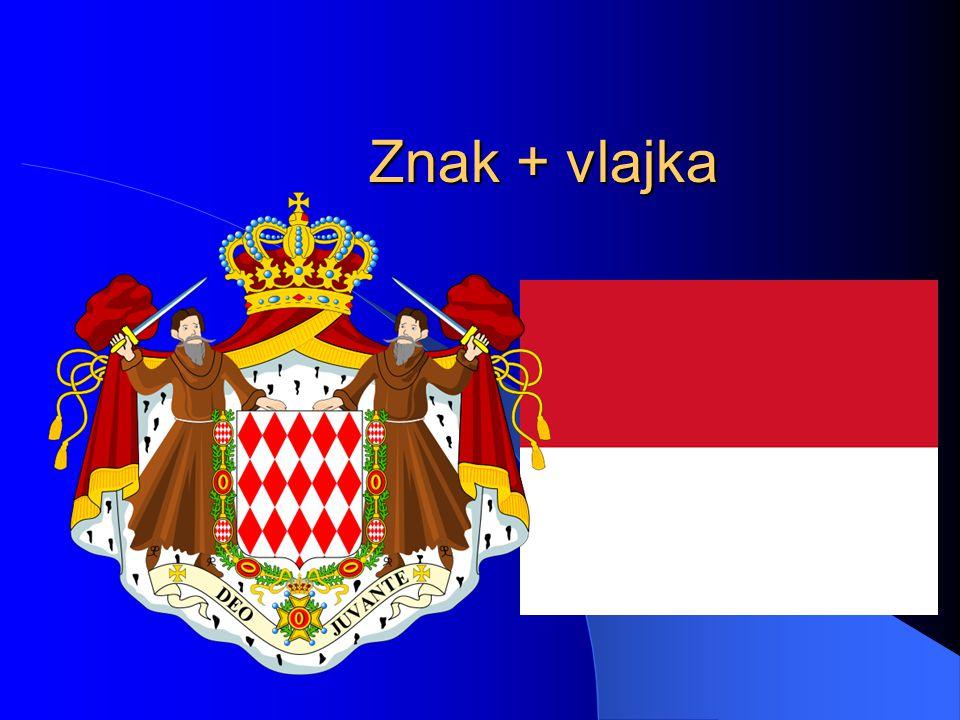Znak + vlajka