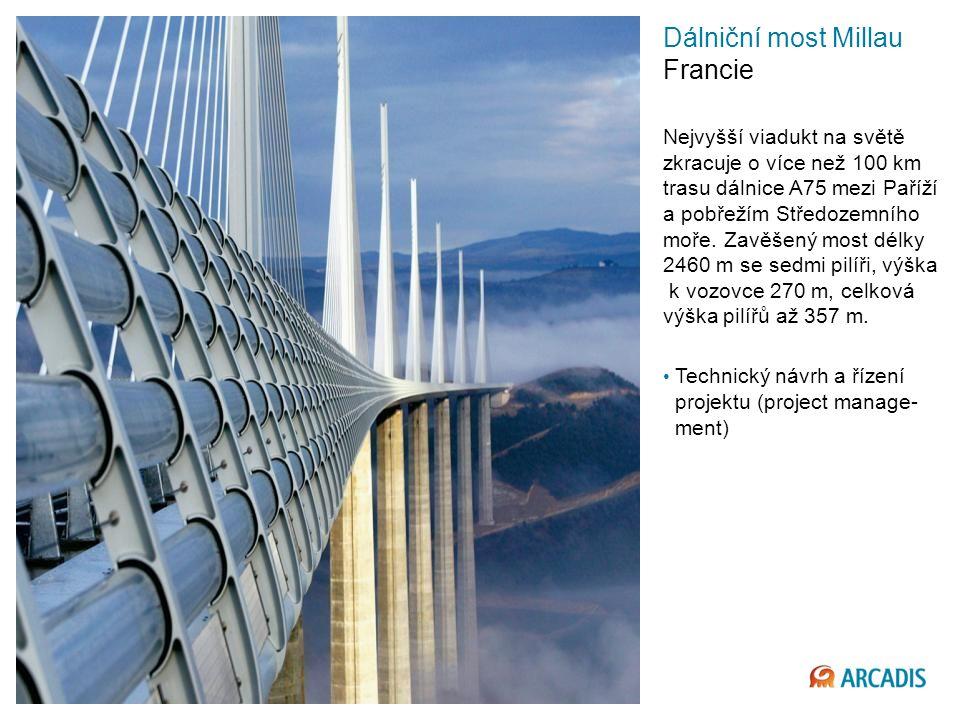 Imagine the result Dálniční most Millau Francie Nejvyšší viadukt na světě zkracuje o více než 100 km trasu dálnice A75 mezi Paříží a pobřežím Středozemního moře.