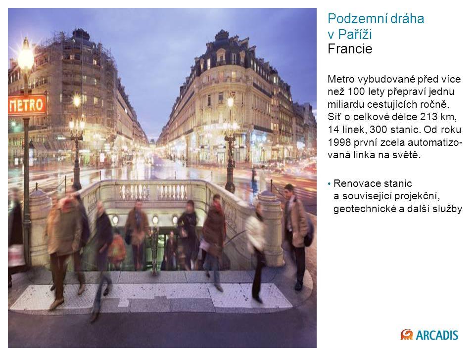 Imagine the result Podzemní dráha v Paříži Francie Metro vybudované před více než 100 lety přepraví jednu miliardu cestujících ročně.