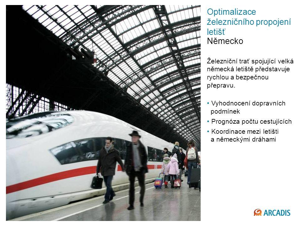 Imagine the result Optimalizace železničního propojení letišť Německo Železniční trať spojující velká německá letiště představuje rychlou a bezpečnou přepravu.