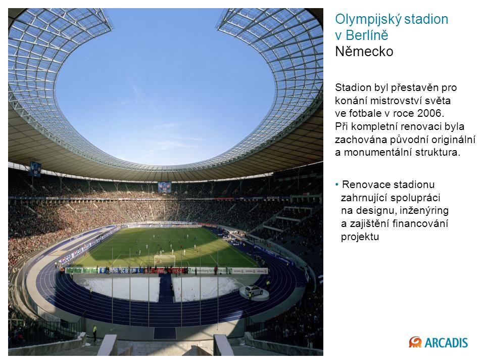Imagine the result Olympijský stadion v Berlíně Německo Stadion byl přestavěn pro konání mistrovství světa ve fotbale v roce 2006.