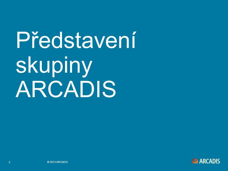 2 © 2013 ARCADIS Představení skupiny ARCADIS