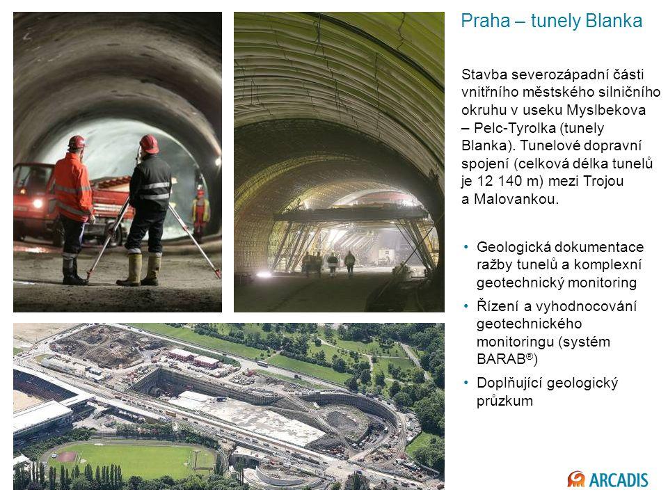 Imagine the result Praha – tunely Blanka Stavba severozápadní části vnitřního městského silničního okruhu v useku Myslbekova – Pelc-Tyrolka (tunely Blanka).