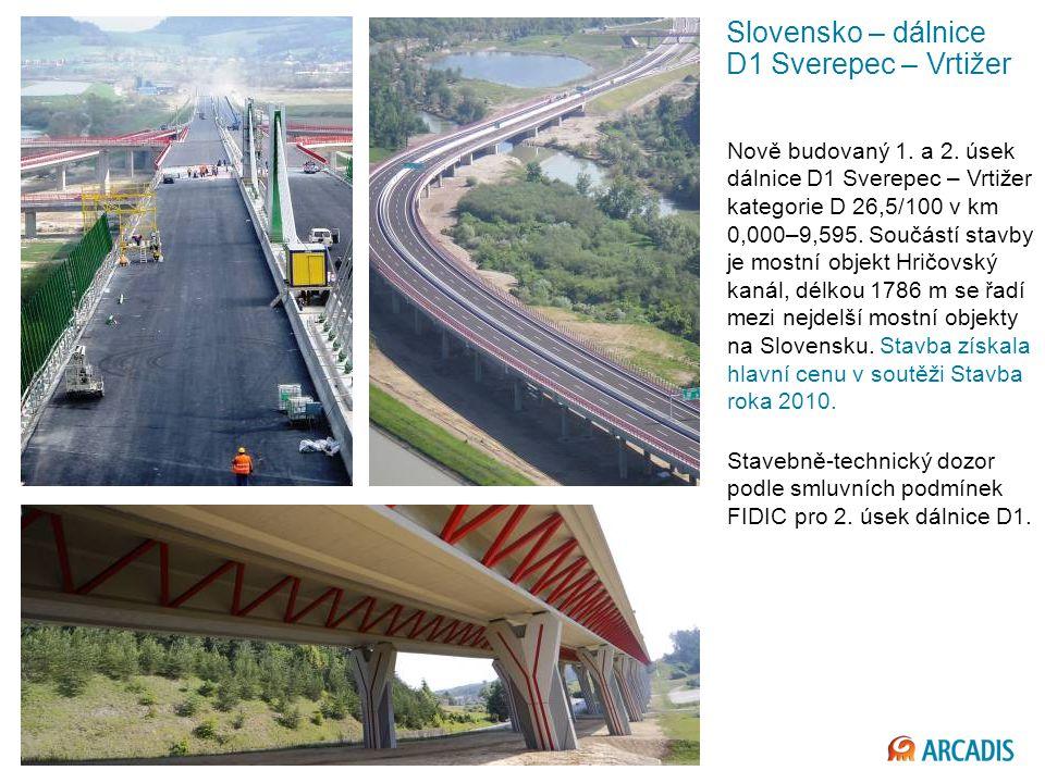 Imagine the result Slovensko – dálnice D1 Sverepec – Vrtižer Nově budovaný 1.