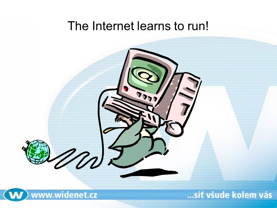 The Internet learns to run!