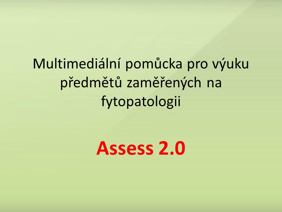 Multimediální pomůcka pro výuku předmětů zaměřených na fytopatologii Assess 2.0