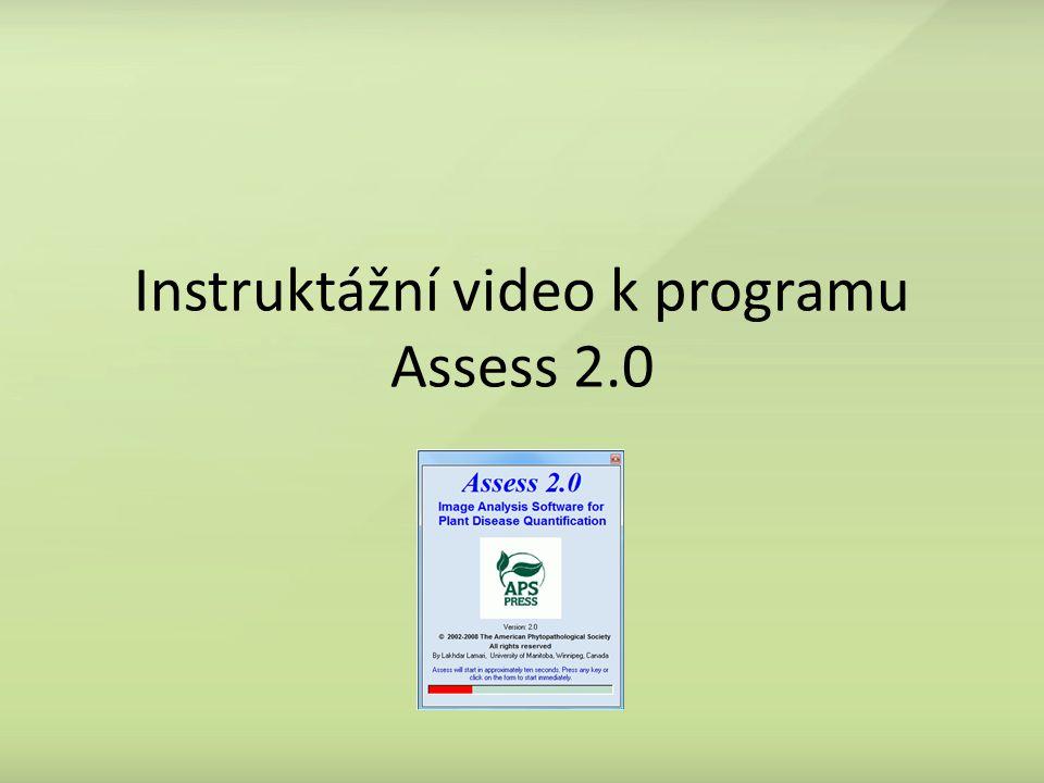 Instruktážní video k programu Assess 2.0