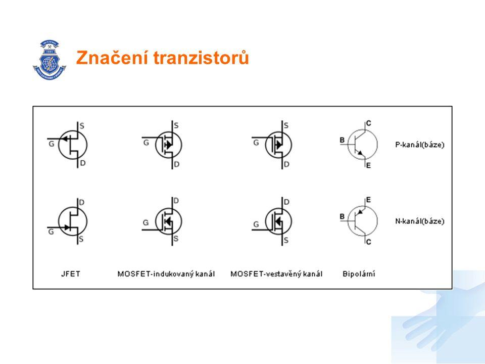 Značení tranzistorů