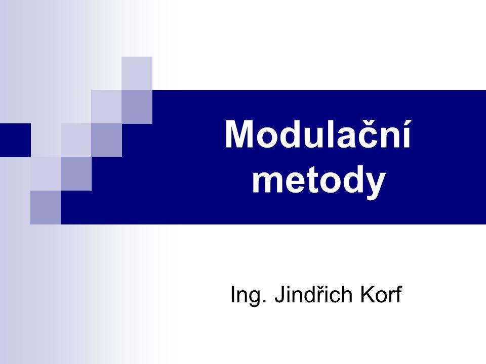 Amplitudová modulace - rozdělení Modulace AM rozdělujeme na:  Modulace s nosnou a oběma postranními pásmy (AM) - nejčastěji používané pro bezdrátové rozhlasové přenosy.