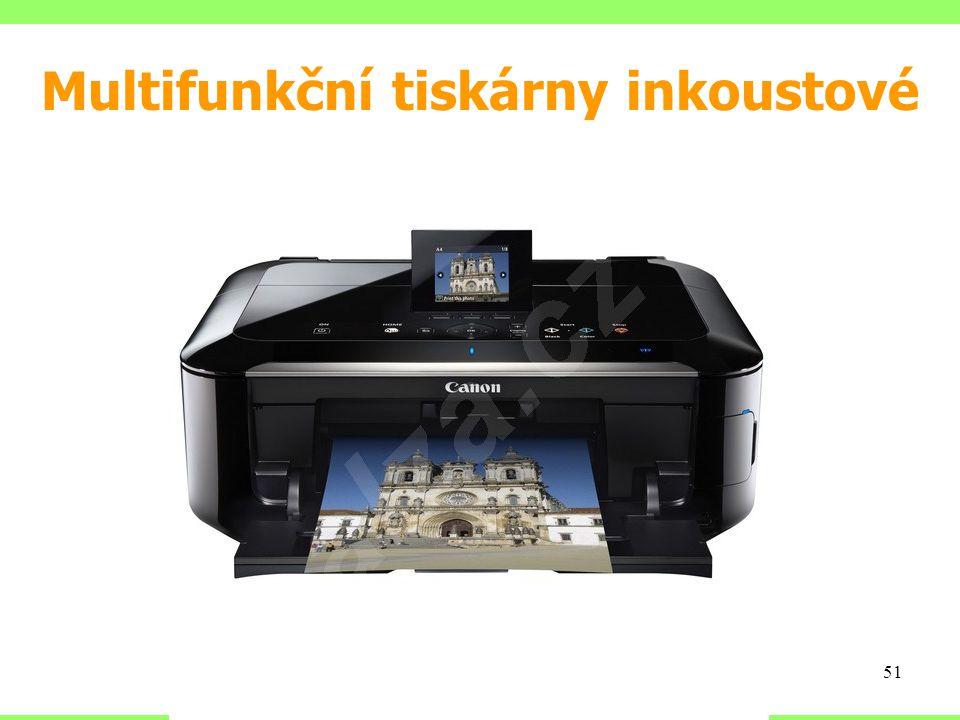 Multifunkční tiskárny inkoustové 51