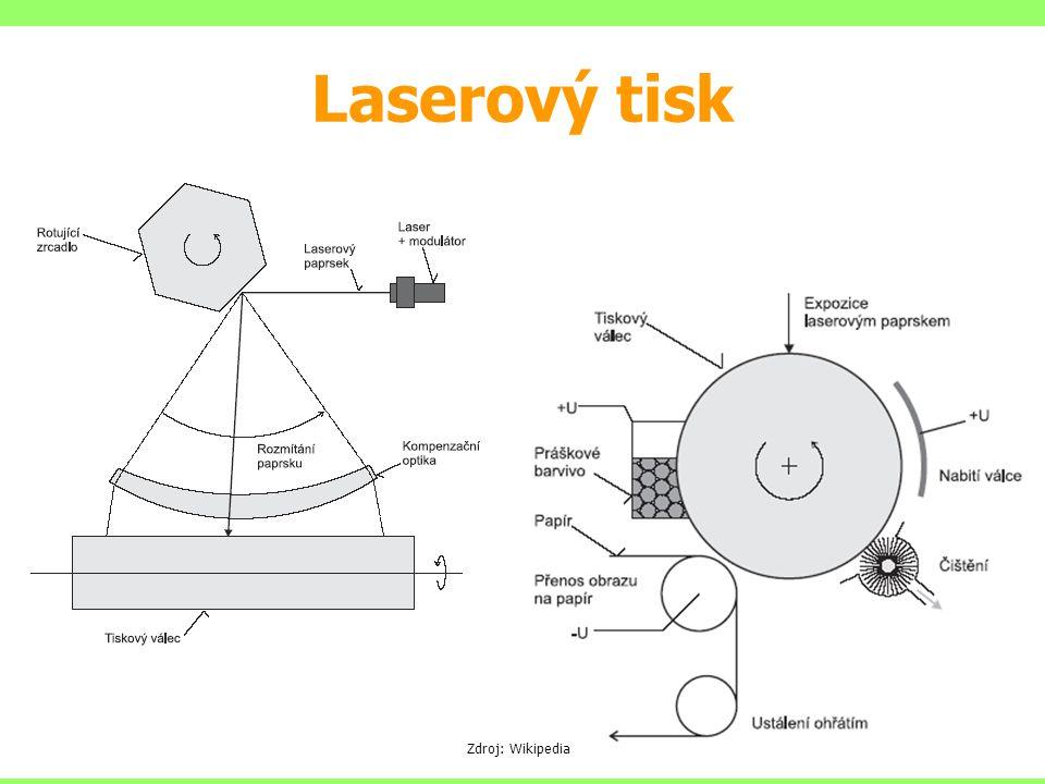 Laserový tisk Zdroj: Wikipedia