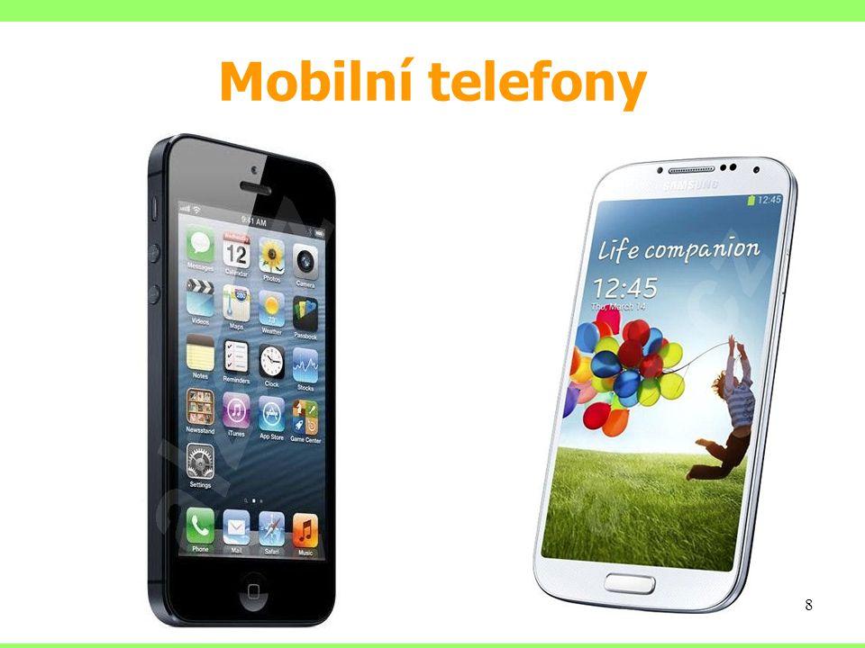 Mobilní telefony 8