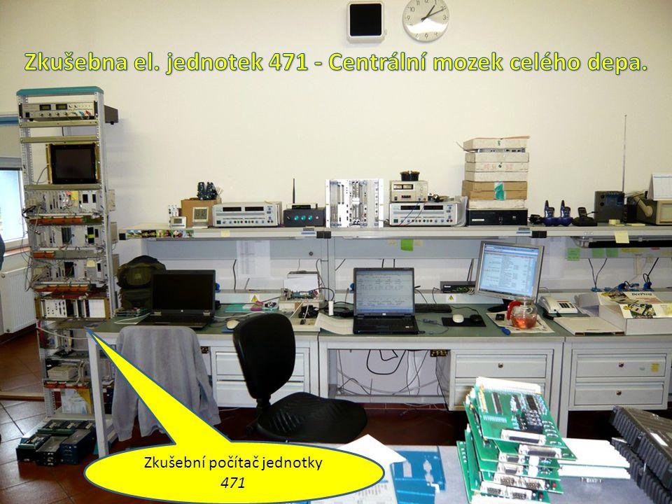 Zkušební počítač jednotky 471