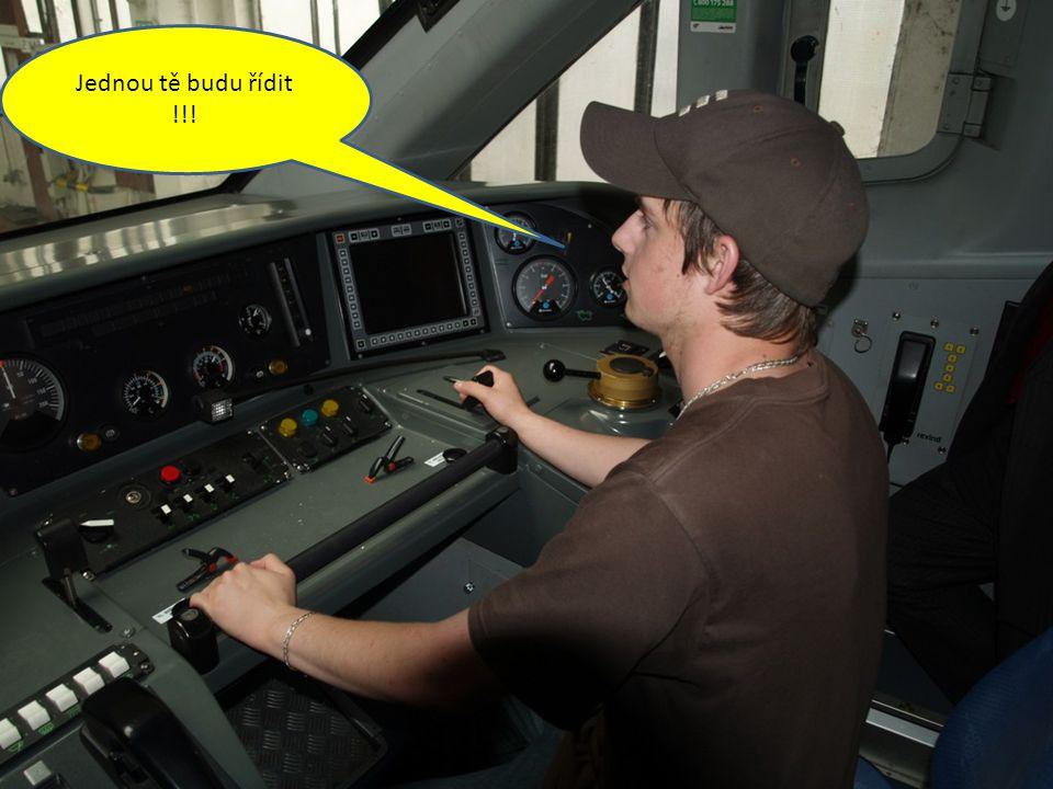Jednou tě budu řídit !!!