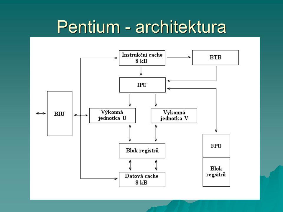 Pentium - architektura