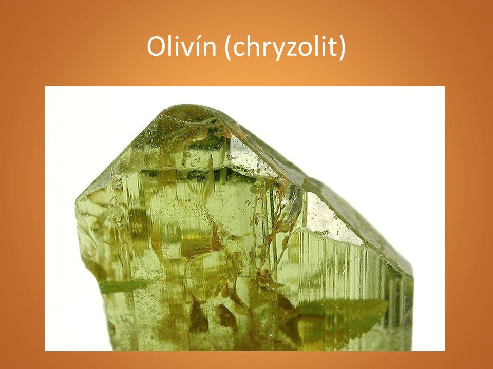 Olivín (chryzolit)
