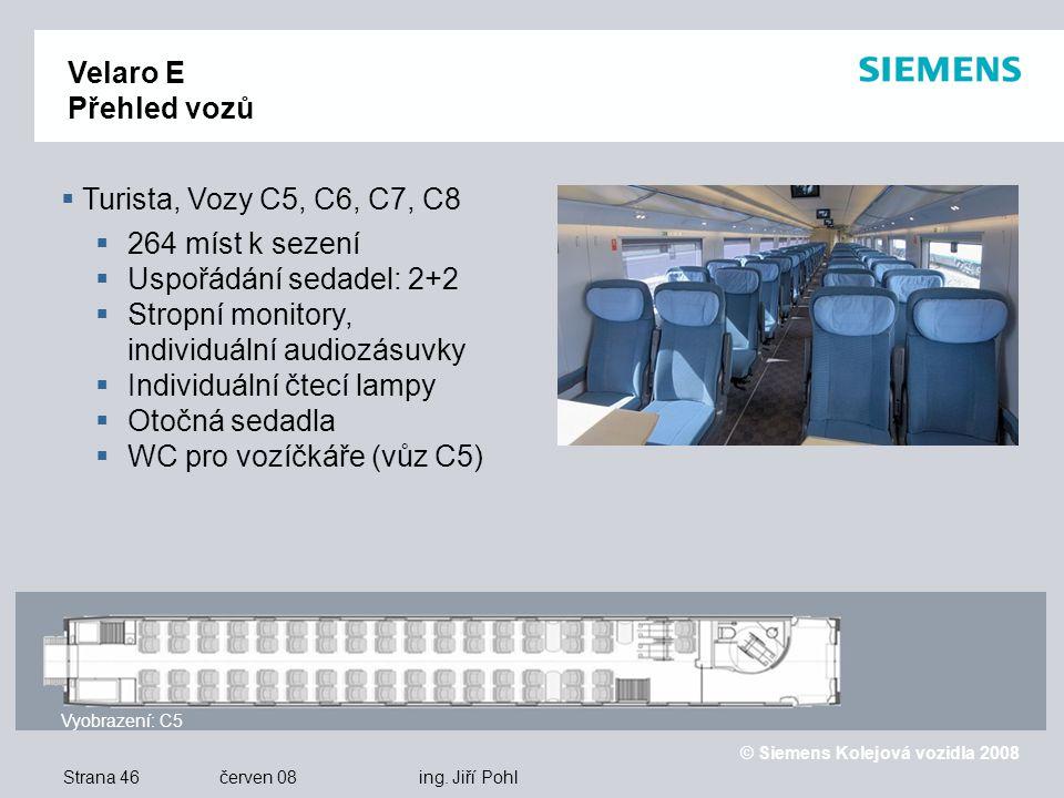 © Siemens Kolejová vozidla 2008 Strana 46 červen 08 ing.
