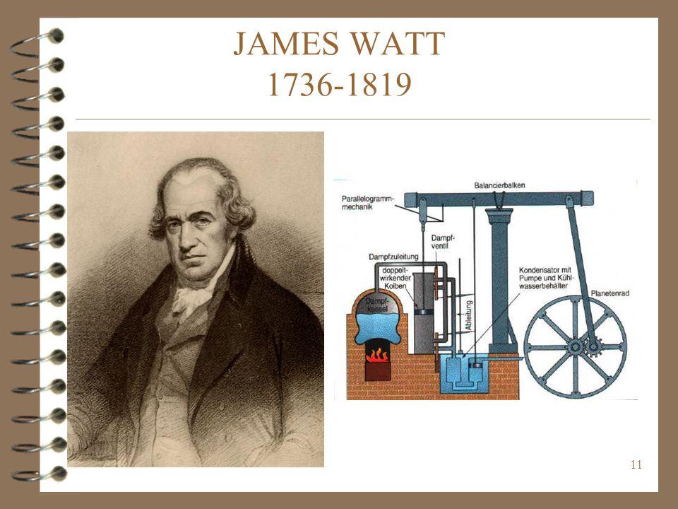 11 JAMES WATT 1736-1819