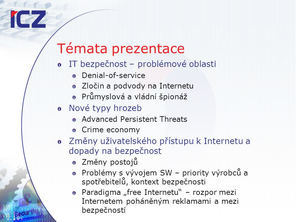 "Průmyslová špionáž October 31, 2011: Symantec Says ""Nitro Attacks Targeted Defense and Chemical Companies Nearly 50 companies have been targeted in the campaign since July 2011."