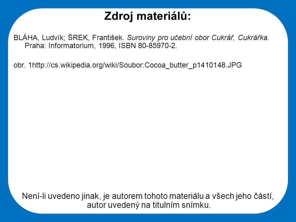 Střední škola Oselce Zdroj materiálů: BLÁHA, Ludvík; ŠREK, František.