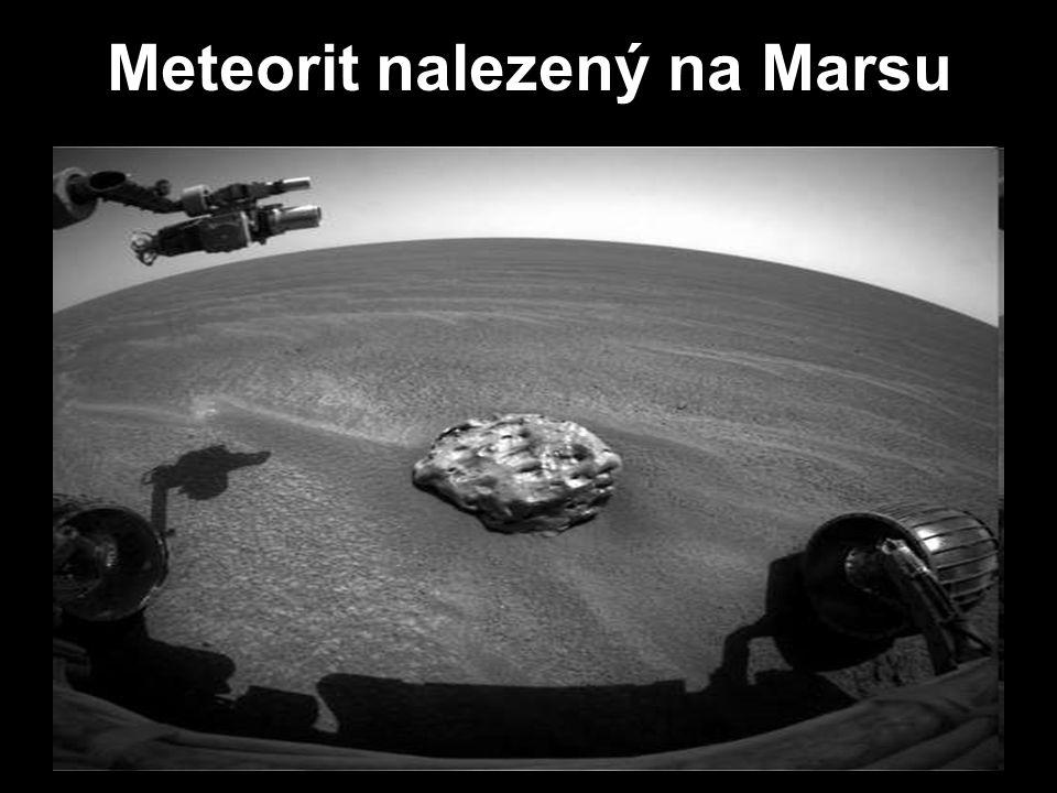 Meteorit nalezený na Marsu