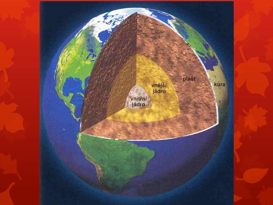 Přiřaďte ke správné geosféře:  Zemské jádro  Zemský plášť  Litosféra  Pedosféra  Atmosféra  Hydrosféra  Biosféra ryzí kovy a vysoká teplota natavené horniny horninový obal Země půda kyslík řeky a moře žirafa