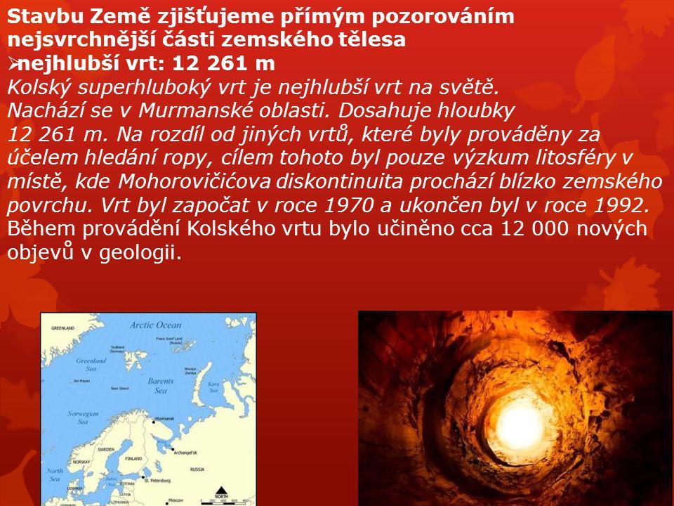 LITOSFÉRA Země byla nejdříve natolik horká, že nebyla vytvořena pevná zemská kůra.