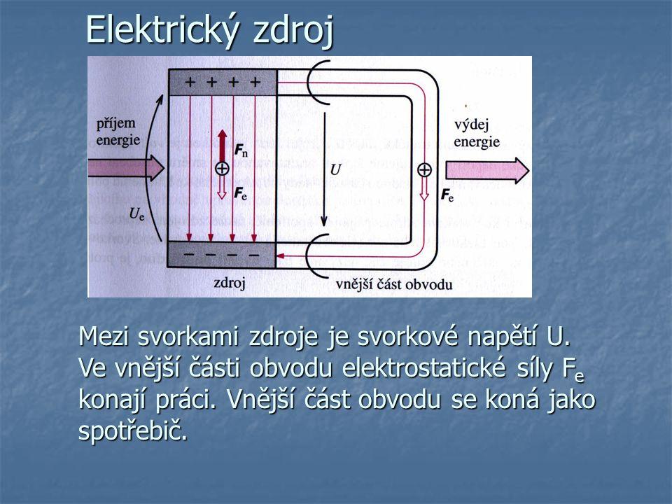 Samostatný výboj za atmosférického tlaku Jiskrový výboj: trvá velmi krátkou dobu, vzniká při dosažení U z mezi elektrodami, není-li zdroj schopen trvale dodávat velký proud (př.