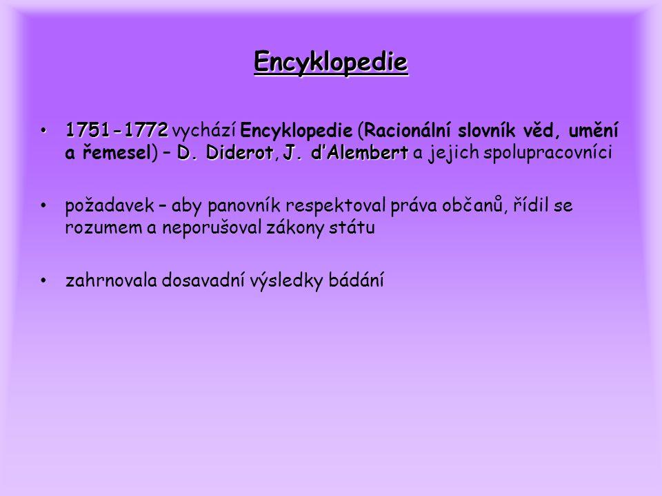 Encyklopedie 1751-1772 D. DiderotJ.