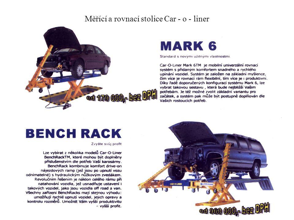 Měřící a rovnací stolice Car - o - liner