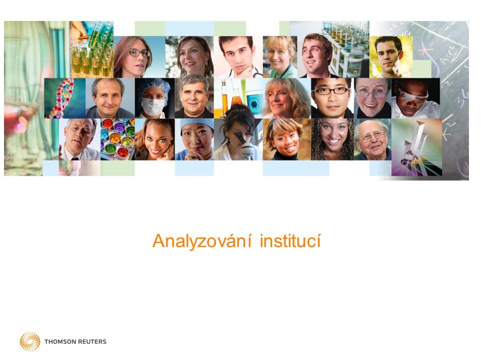 Analyzování institucí