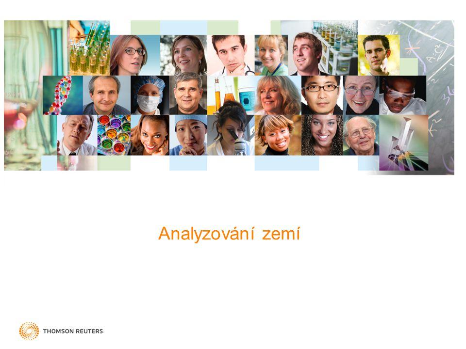Obor: Chemistry, Medicinal Kdo přispívá v velkému citačnímu vlivu Slovenska? 19