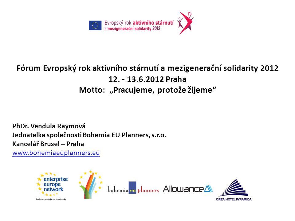 Fórum Evropský rok aktivního stárnutí a mezigenerační solidarity 2012 12.