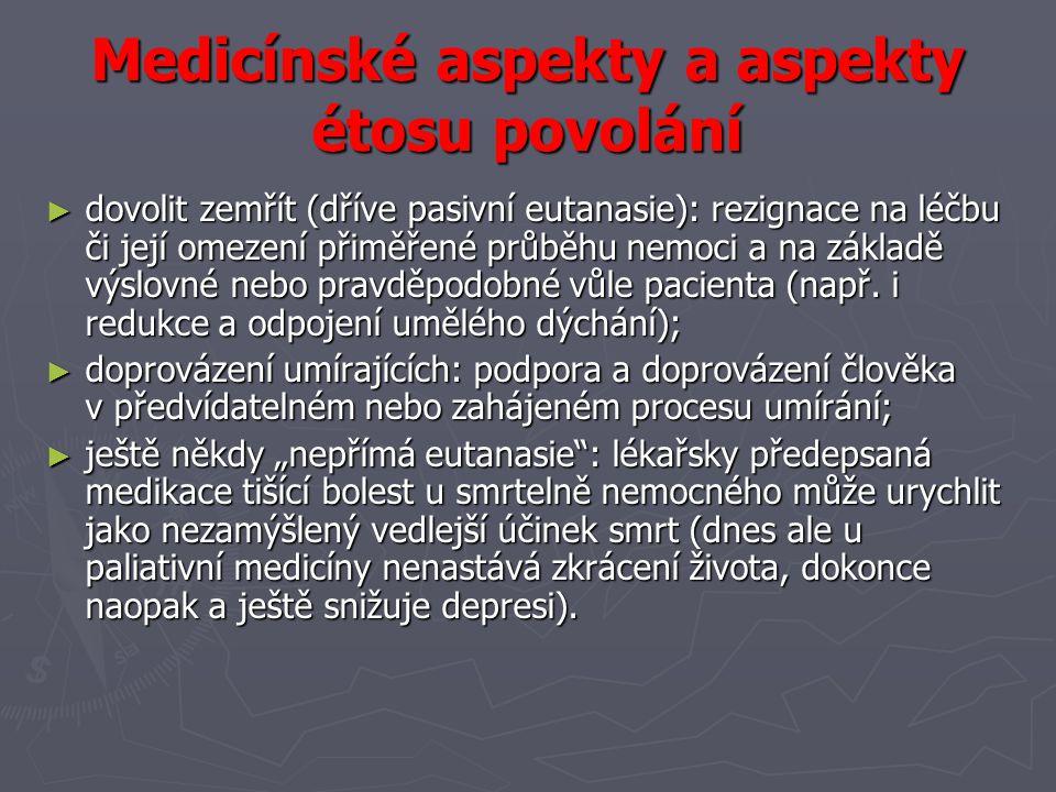 ► např.smrtící lék se musí vložit do úst kvůli nepohyblivosti nebo slabosti.
