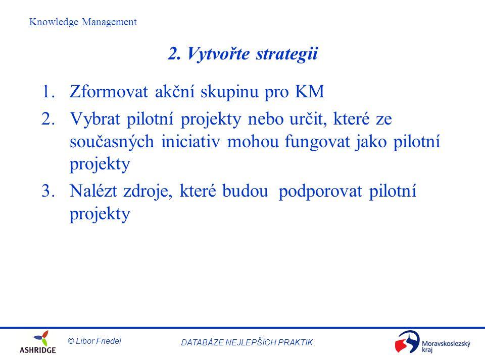 © Libor Friedel Knowledge Management DATABÁZE NEJLEPŠÍCH PRAKTIK 2.