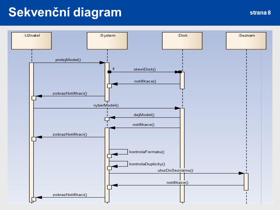 Sekvenční diagram strana 8