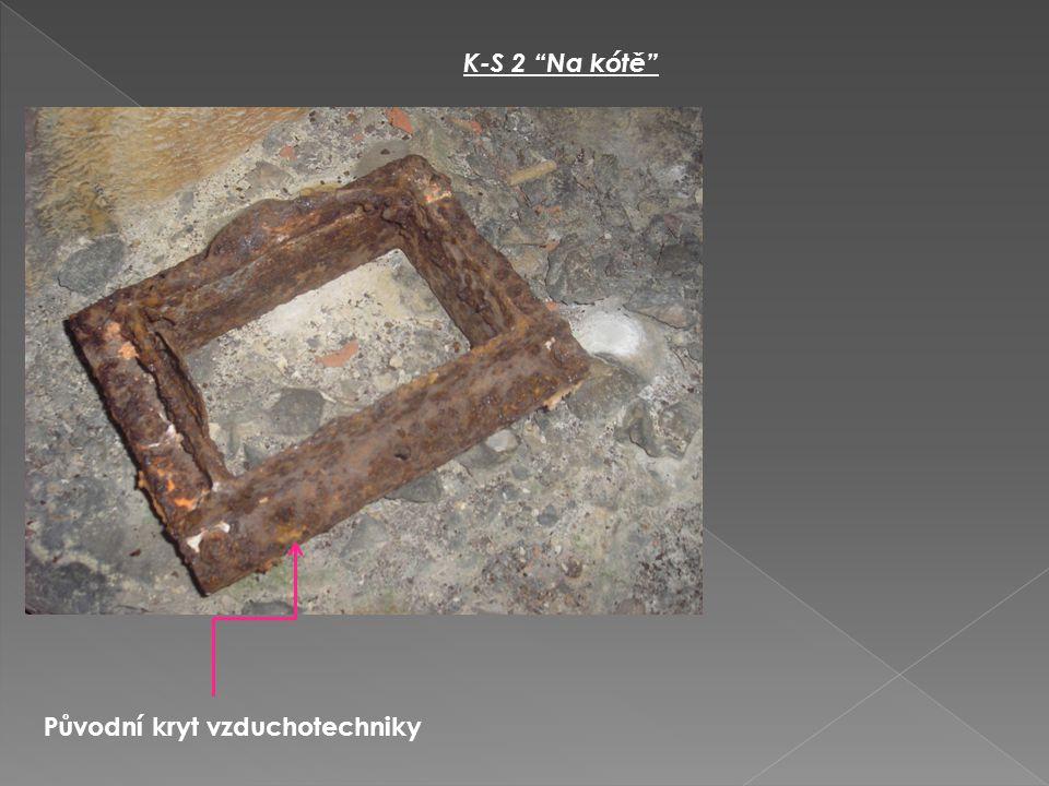 """K-S 2 """"Na kótě"""" Původní kryt vzduchotechniky"""