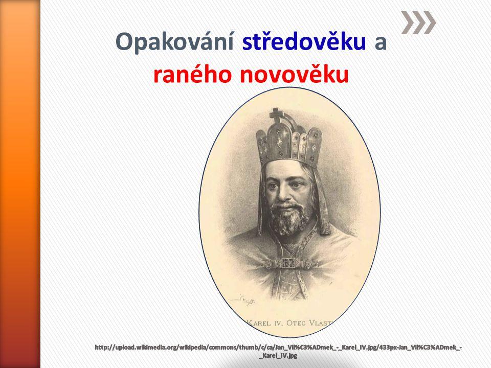 » Vyřeš přesmyčky: jména českých králů » L R A K E IV.