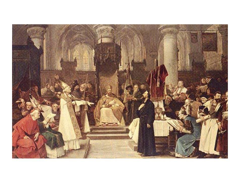 Husovy spisy byly odsouzeny ke spálení.Jeho učení bylo zavrženo.