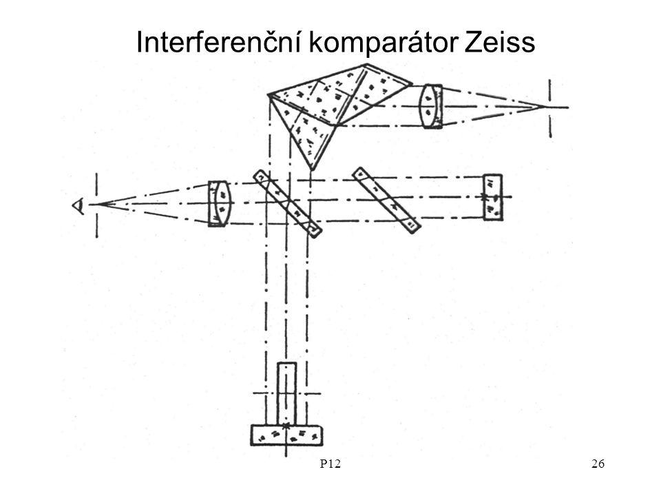 P1226 Interferenční komparátor Zeiss