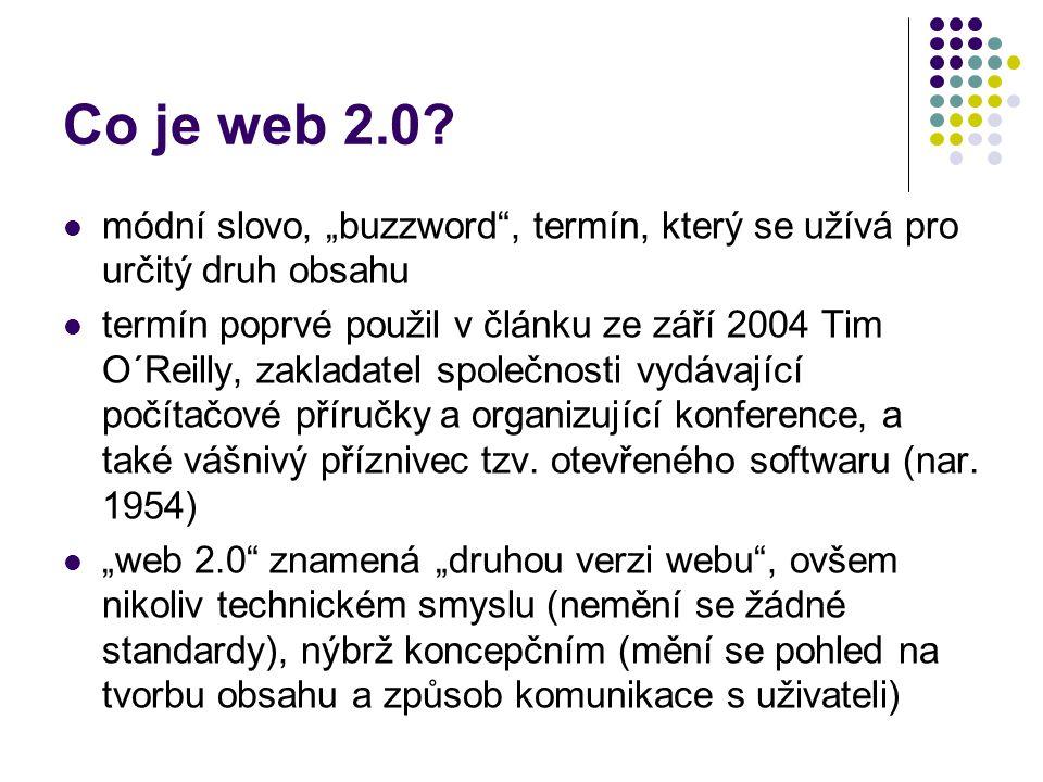 Co opravdu je web 2.0.