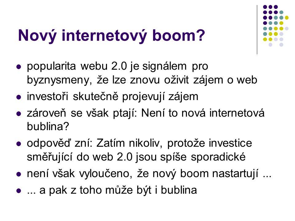 Nový internetový boom.