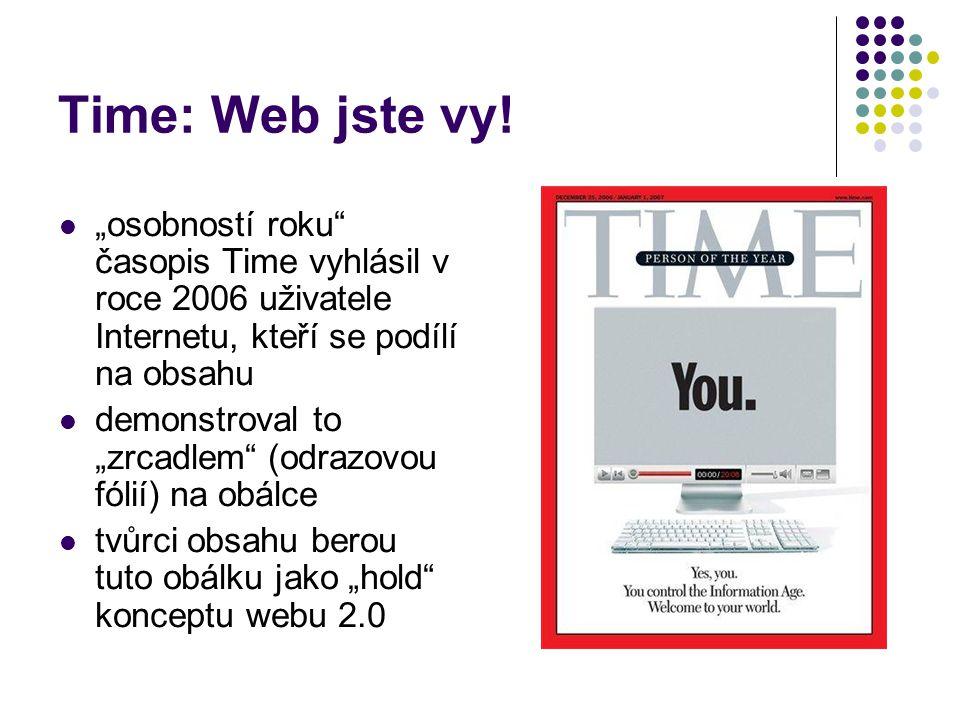 Time: Web jste vy.