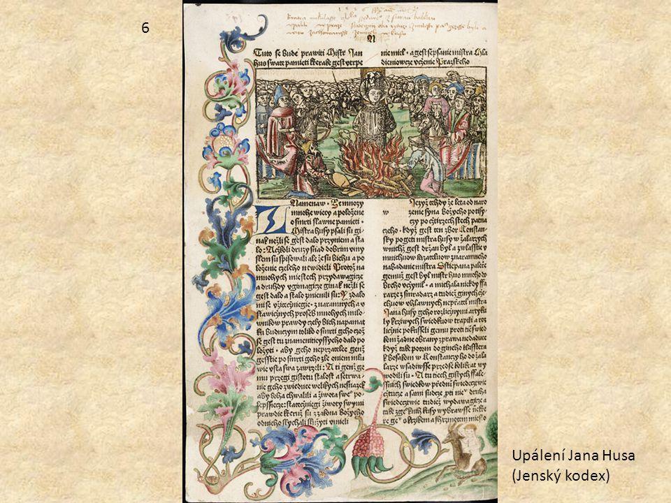 Upálení Jana Husa (Jenský kodex) 6