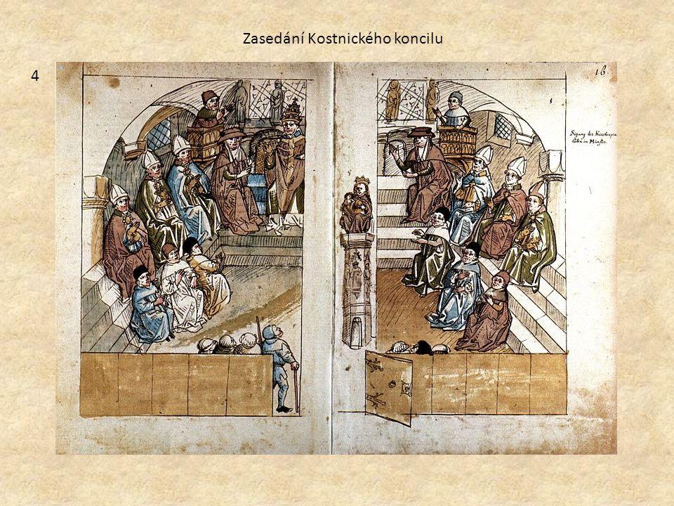 4 Zasedání Kostnického koncilu