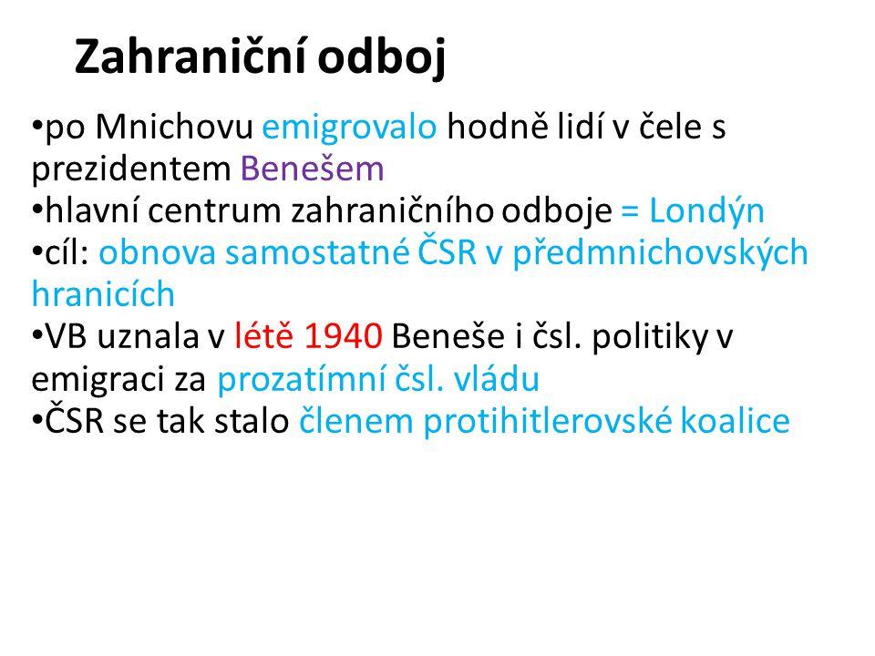 Čechoslováci v boji čsl.