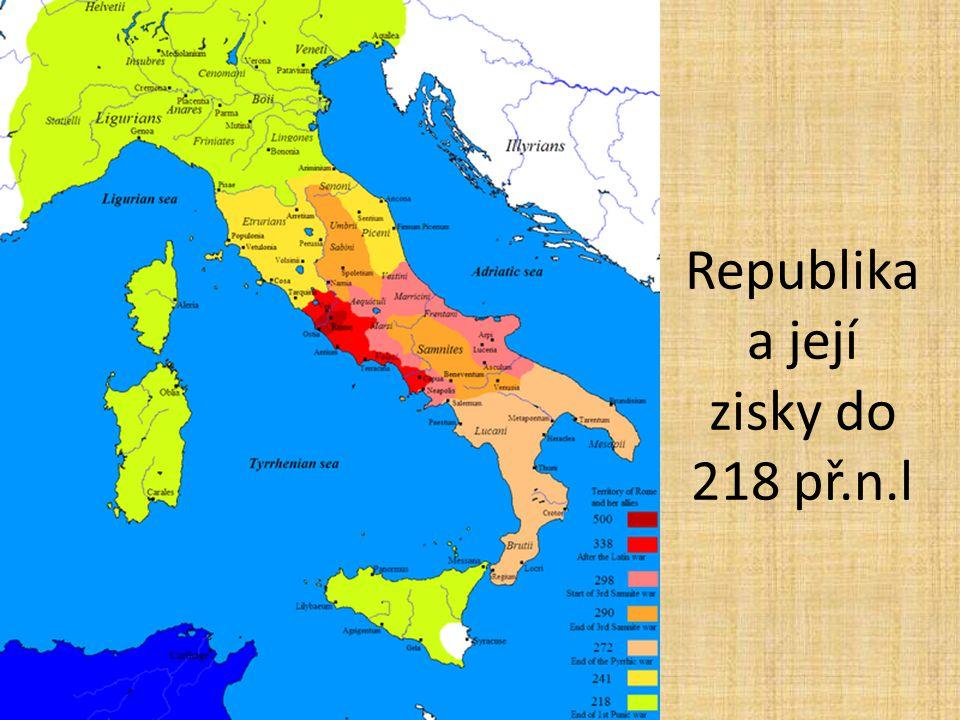 Republika a její zisky do 218 př.n.l