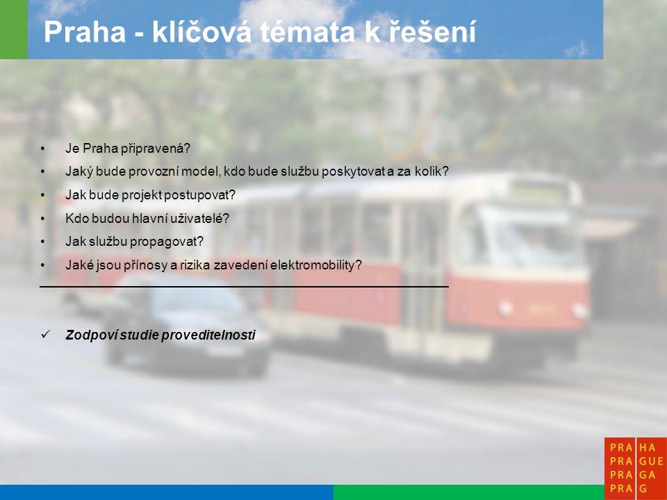 9 Praha - postup projektu